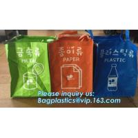 Buy cheap Non Woven Hotel Washing high quality Drawstring Laundry Bag, laundry bag for hotel, Foldable non woven corner laundry ha from wholesalers