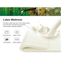 Buy cheap Manufacture of Natural Latex 7-zone Massage Mattress, Bed Topper from wholesalers