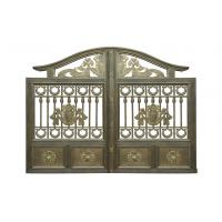 Buy cheap Architectural Wrought Iron Cast Iron Garden Gate European Style from wholesalers
