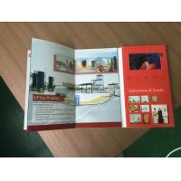 Buy cheap Promotional gifts 4.3 customized video brochure with 128MB memory  for description from wholesalers