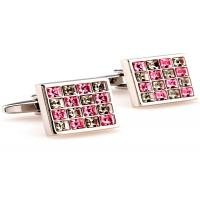 Buy cheap Soft / Hard Enamel Stainless Steel Cufflinks Logo Engraving Available from wholesalers