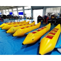 Buy cheap Long Rowing Inflatable Banana Boat Water Sport Equipment from wholesalers