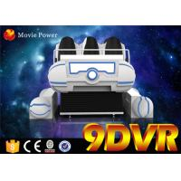 Buy cheap 6DOF Electric system 220V VR Family 6 seats 9d vr experience with 6.0KW power from wholesalers