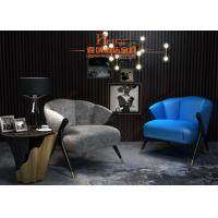 Buy cheap Lobby Leisure Furniture European Comfortable Creative Low Back Lounge Sofa Chair from wholesalers