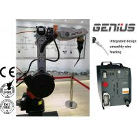 Buy cheap 6 Axis MIG Welding Robot , Electric Welding Machine For Steel Structure from wholesalers