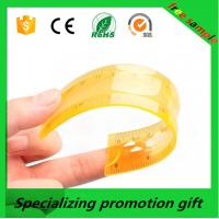 Colorful 10/20/30cm straight Flexible soft ruler with logo printed made in China