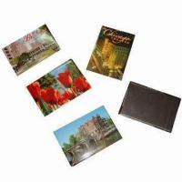 Buy cheap Souvenir Photo Fridge Magnet for Promotional Gift, Made of Tin/Paper, Customized Designs Accepted from wholesalers
