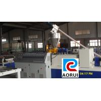 Buy cheap Fully Automatic Double Screw Plastic Profile Extrusion Machine 150kg/H from wholesalers