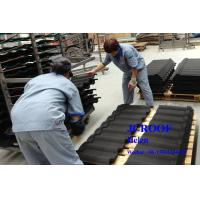 Buy cheap Colorful Sand Colour Coated Metal Roofing Sheets High Corrosion Al-Zn Plate from wholesalers