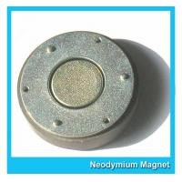 Buy cheap Small Thin Custom Neodymium Magnets Strong Round Flat Ndfeb Magnet 15mmX1mm from wholesalers