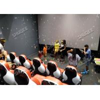 Wholesale Customization 5D Cinema Seats  For 30 People 3 Seats Per Platform from china suppliers