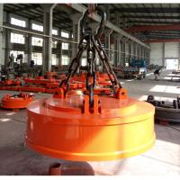 Buy cheap Permanent Electric Lifting Magnets Weather Resistant For Bridge Crane Round Shape from wholesalers