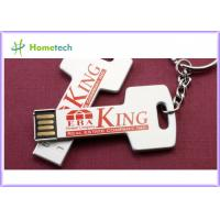 Buy cheap Fast 4GB 2GB 1GB 256MB 512MB Key Shaped USB Advertising Tool Mini Webkey with keychain from wholesalers