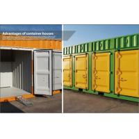 Buy cheap 20' Modular Shipping Container House / Prefabricated Homes with color steel frame from wholesalers