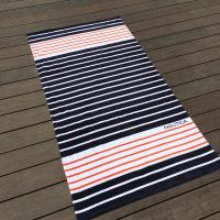Buy cheap Eco Friendly Chevron Printed Beach Towels For Shower High Water - Absorbing product