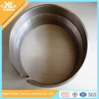 China High Strength Pure ASTM B862 Titanium Welded Tubes on sale