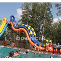 Buy cheap Giant Inflatable Water Slide With Durable 0.9 mm PVC Tarpaulin from wholesalers