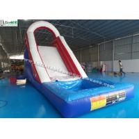 Buy cheap Back Load US Commercial Inflatable Water Slides For Kids / Children from wholesalers