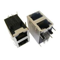 Buy cheap ARJM21A1-811-BA-EW2 2x1 Port Stacked Rj45 Right Angle Without Magnetic from wholesalers