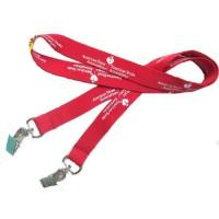 Buy cheap Custom Imprinted Double Ends Plain Lanyards from wholesalers