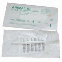Buy cheap RFID Animal ID Microchip/Transponder Syringe with Data Security from wholesalers