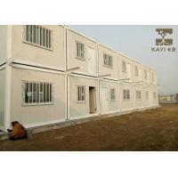 Buy cheap Labor Quarters Pre Built Container Homes Customized Color With Bathroom And Kitchen from wholesalers