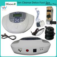 Buy cheap new single ionic foot cell spa chin bath detox ion machine from wholesalers