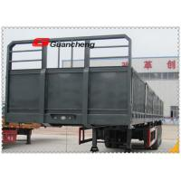 China 40 Ton Loading Capacity Cargo Semi Trailer , Container Side Loader Trailer on sale