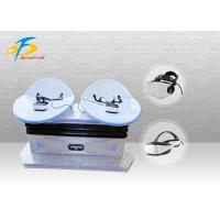 Buy cheap Club / Airport Virtual Reality Slide Simulator Game Machine For Double Players product
