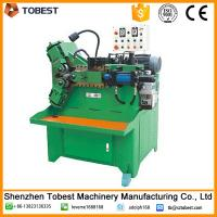 Buy cheap hydraulic pipe thread rolling machine with thread rolling dies from wholesalers