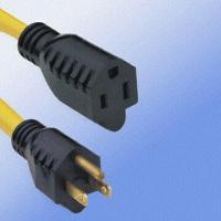 Buy cheap America Standard Power Cords and Sockets with 12A x 3C from wholesalers