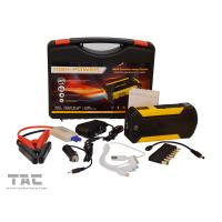 Buy cheap 12000mAh Portable Car Jump Starter Booster Battery Power Bank 4 USB Charger 12V from wholesalers