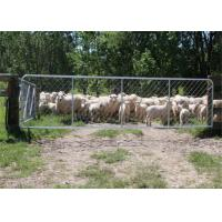 Buy cheap Durable Chain Link Mesh Fence Gate For Animal Deer Ranch Enclosure from wholesalers