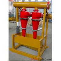 Buy cheap Oil rig drilling mud process solids control hydrocyclone desander separator from wholesalers