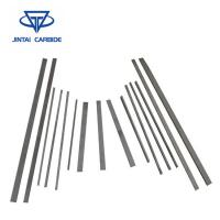 Buy cheap Flats Customized Or Standard Blank Tungsten Carbide Strips / Sticks Alloy Bars Plates from wholesalers