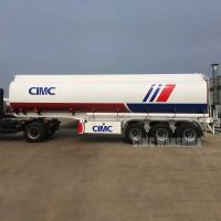 Buy cheap Fuel tanker fuel tanker trailer fuel tank price | CIMC TRAILER from wholesalers