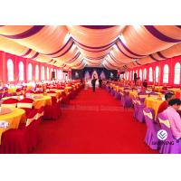 Buy cheap Red Aluminum Truss Roof Systems , Beautiful Dj Lighting Truss Systems Tent With Air Condition from wholesalers