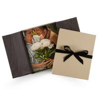 Wholesale Kraft Or Black Simple Memory Y Lane Gift Wedding Recall Box With Bowknot Lid from china suppliers