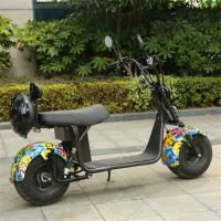 Buy cheap Sun Shine 2019 reasonable price mobility scooter with Suspension front 2 wheel harely/citycoco from wholesalers