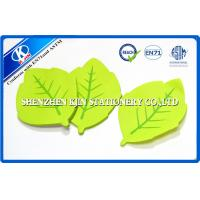 Wholesale Green Memo desktop sticky notes Leaf Shaped For Kids , post sticky notes from china suppliers