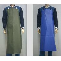 Buy cheap Customized Waterproof Industrial Protective Clothing Aprons PVC Leather Fluid Resistant from wholesalers