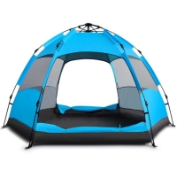 Buy cheap 3-4 Person Automatic Single Layer Rainproof Camping Outdoor Portable Waterproof Tent from wholesalers