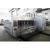 Buy cheap Cardboard Carton Flexo Printing Slotting Machine With PLC Program Control from wholesalers