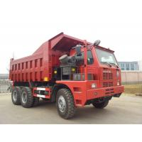 Buy cheap Red Sinotruk 6x4 Rc Heavy Duty Dump Truck Tipper 60 Ton Mining With Hova Chassis from wholesalers