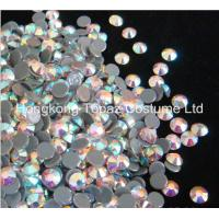 Buy cheap hot fix rhinestone,hot fix strass,hot fix crystal stone clear ab color from wholesalers