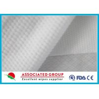 Cross Lapping 200gsm non woven medical fabric Highly absorbent Flsuahable Manufactures