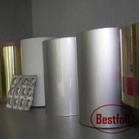 Buy cheap Colored aluminum blister foil paper for capsule/pill/tablet packaging from wholesalers