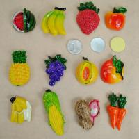 Buy cheap 3D Mexico Fruit Fridge Decoration Magnets Film Covered Design Eco Friendly from wholesalers