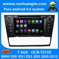 Buy cheap Ouchuangbo Car GPS Navi 3G Wifi for BMW E90 /E91 /E92 /E93 2005-2012 Android 4.4 DVD Radio from wholesalers