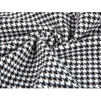 Wholesale Thick Heavy Houndstooth Merino 80% Wool Velvet Fabric For Overcoat from china suppliers